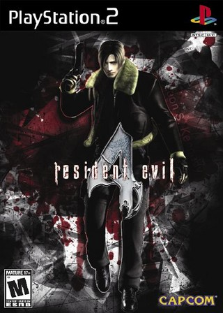 Resident Evil 4 Playstation 2 Box Art Cover By Deleted