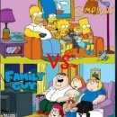 The Simpsons Vs. Family Guy Box Art Cover