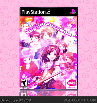 The Melancholy Of Haruhi Suzumiya box art cover
