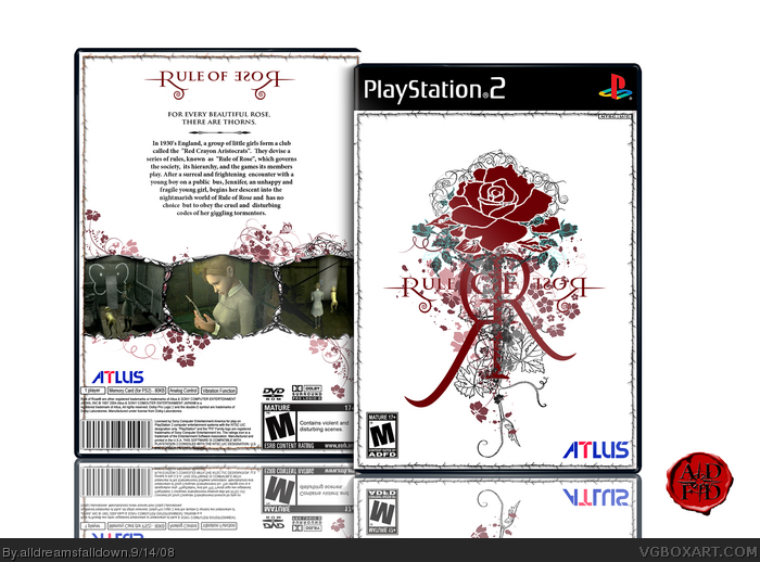 Rule of Rose box art cover