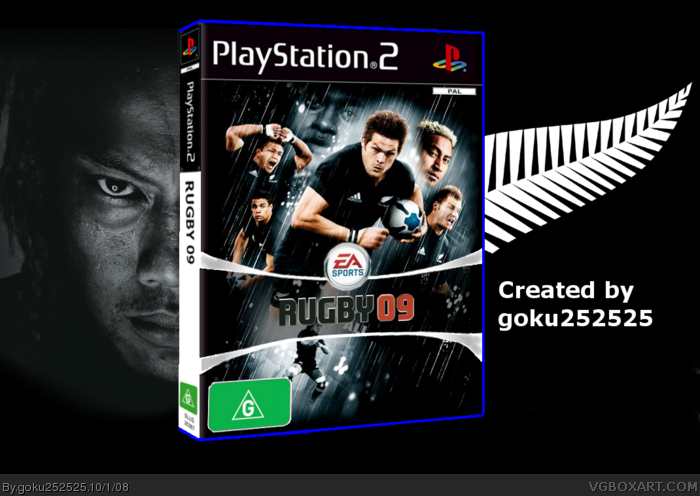 Rugby 09 box art cover