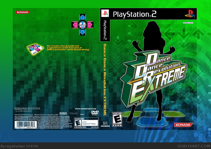 DDR Extreme box art cover