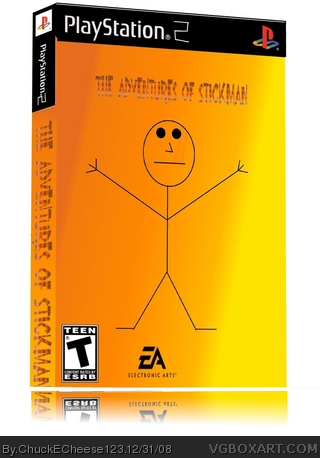 The Adventures Of Stickman box art cover