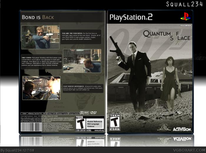 James bond 007 quantum of solace pc game