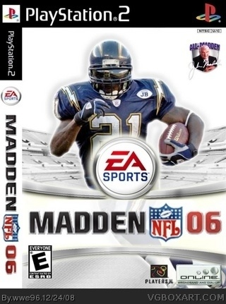 Madden 2006 box cover