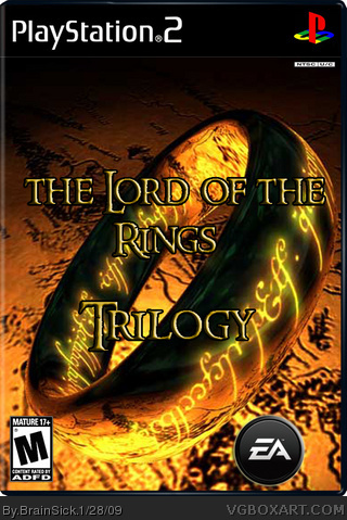 The Lord of the rings:Trilogy box cover