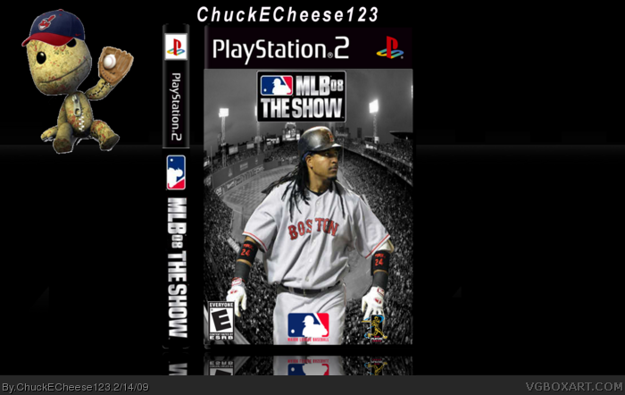 MLB 08: The Show box art cover