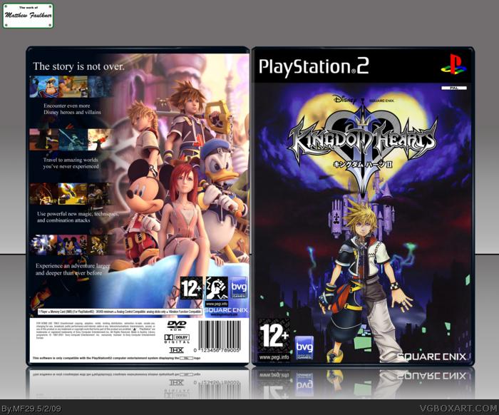 Pics Photos - Kingdom Hearts Playstation 2 Box Art Cover By ...
