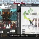 Final Fantasy XIII: Cancelled PS2 FF13 Box Art Cover