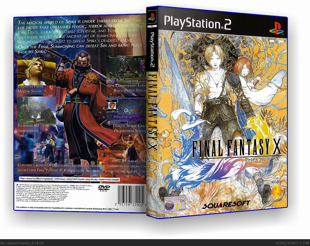 Final fantasy x cover art