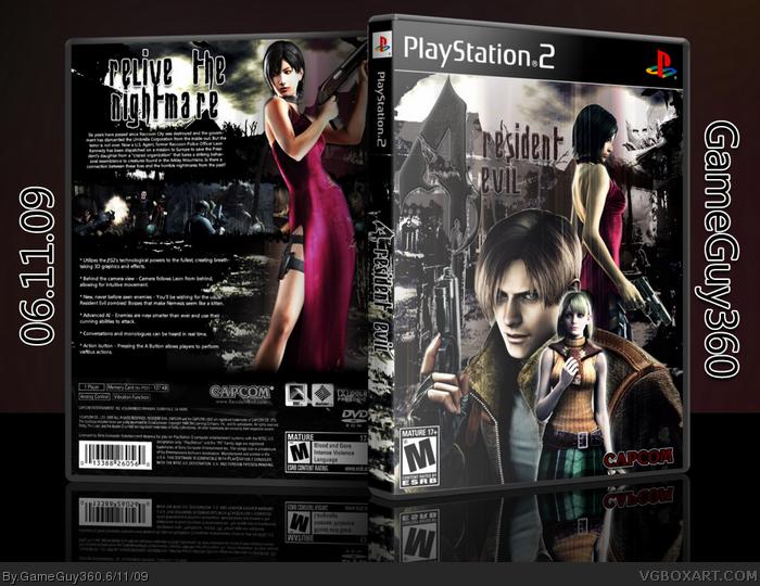 resident evil 4 ps2 cover
