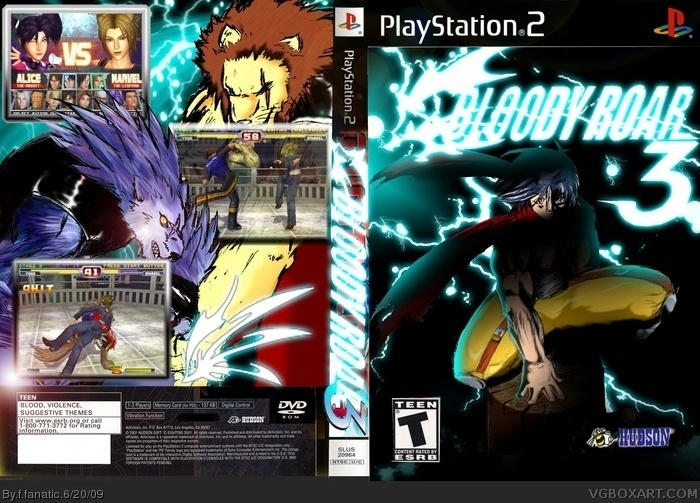 Bloody Roar 3 box art cover