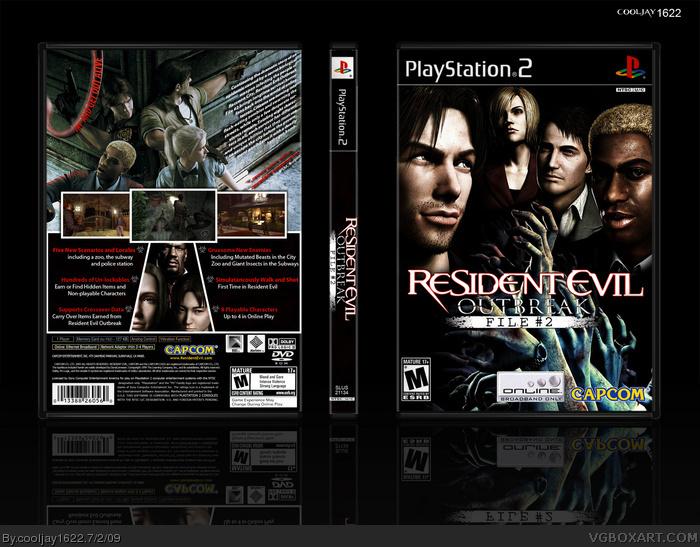 Resident Evil Outbreak Logo Resident Evil Outbreak File 2