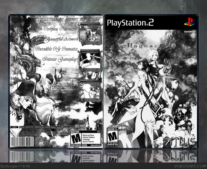Magna Carta PlayStation 2 Box Art Cover by Moogle