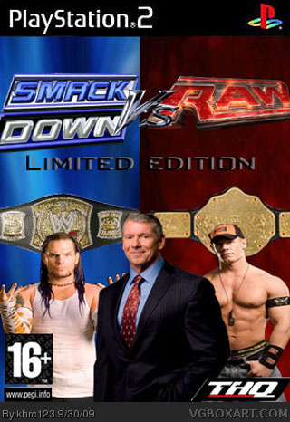 WWE SmackDown vs. Raw 2008 Limited Edition box cover