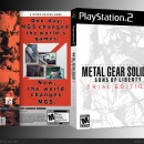 Metal Gear Solid 2 Trial Edition Box Art Cover