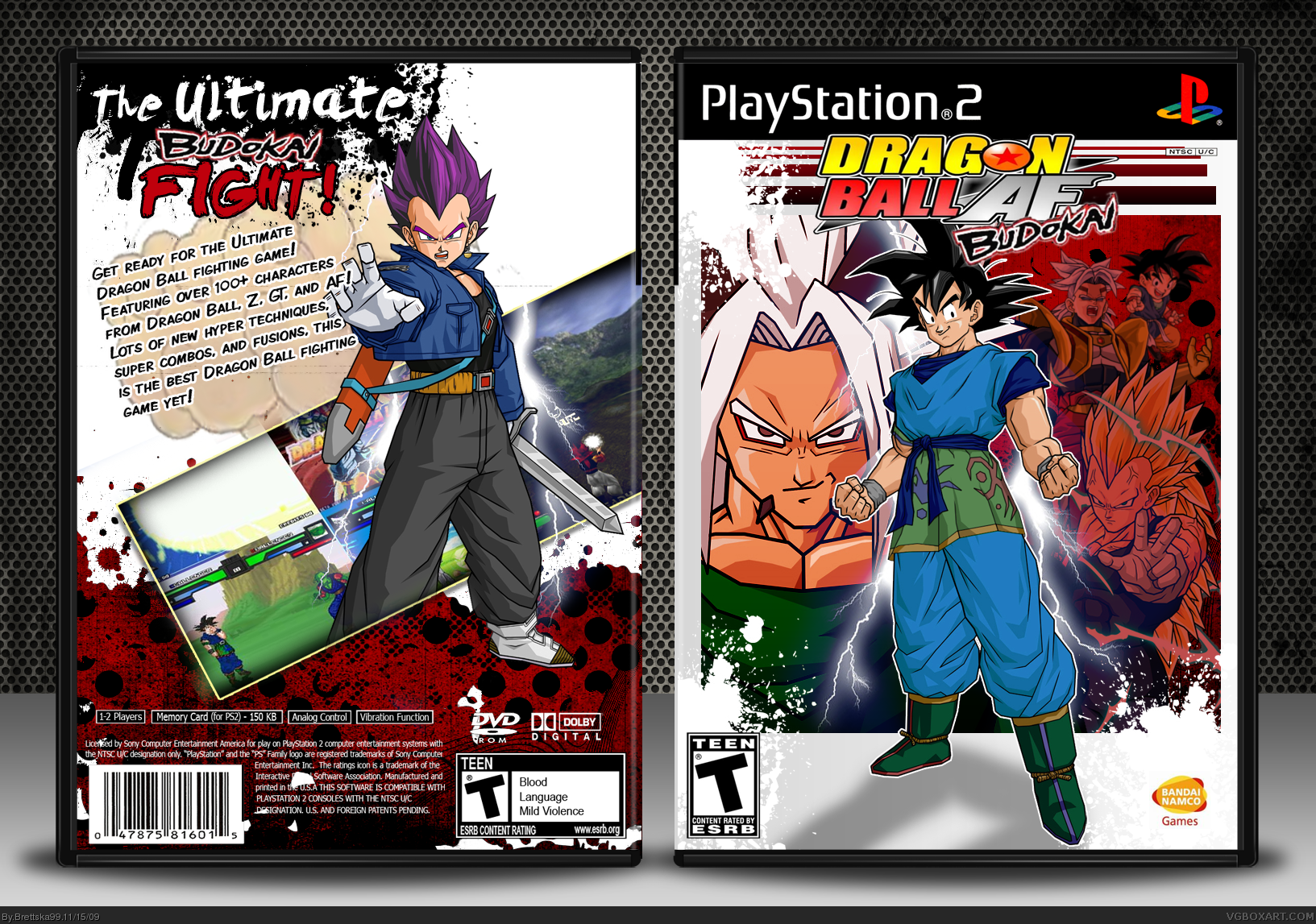 Dragon Ball AF Budokai box cover