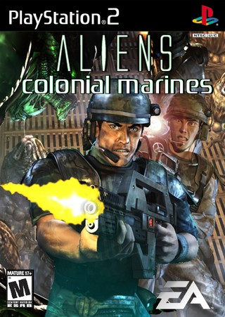 Aliens: Colonial Marines box cover