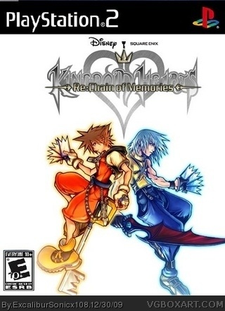 Kingdom Hearts: Chain of Memories box cover