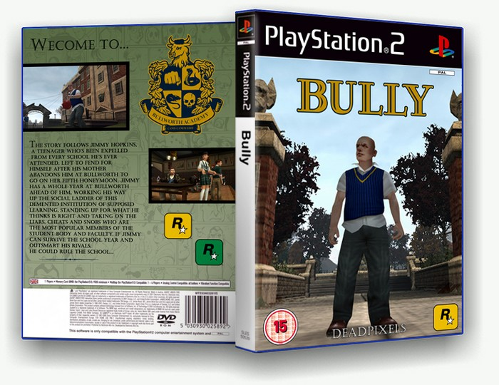 Bully box art cover