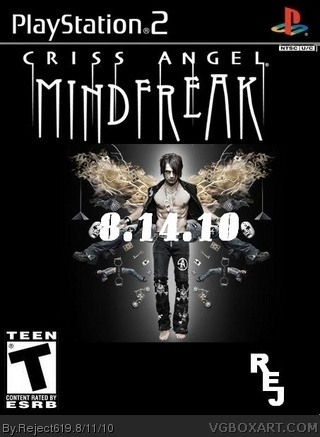 Criss Angel Mindfreak box cover
