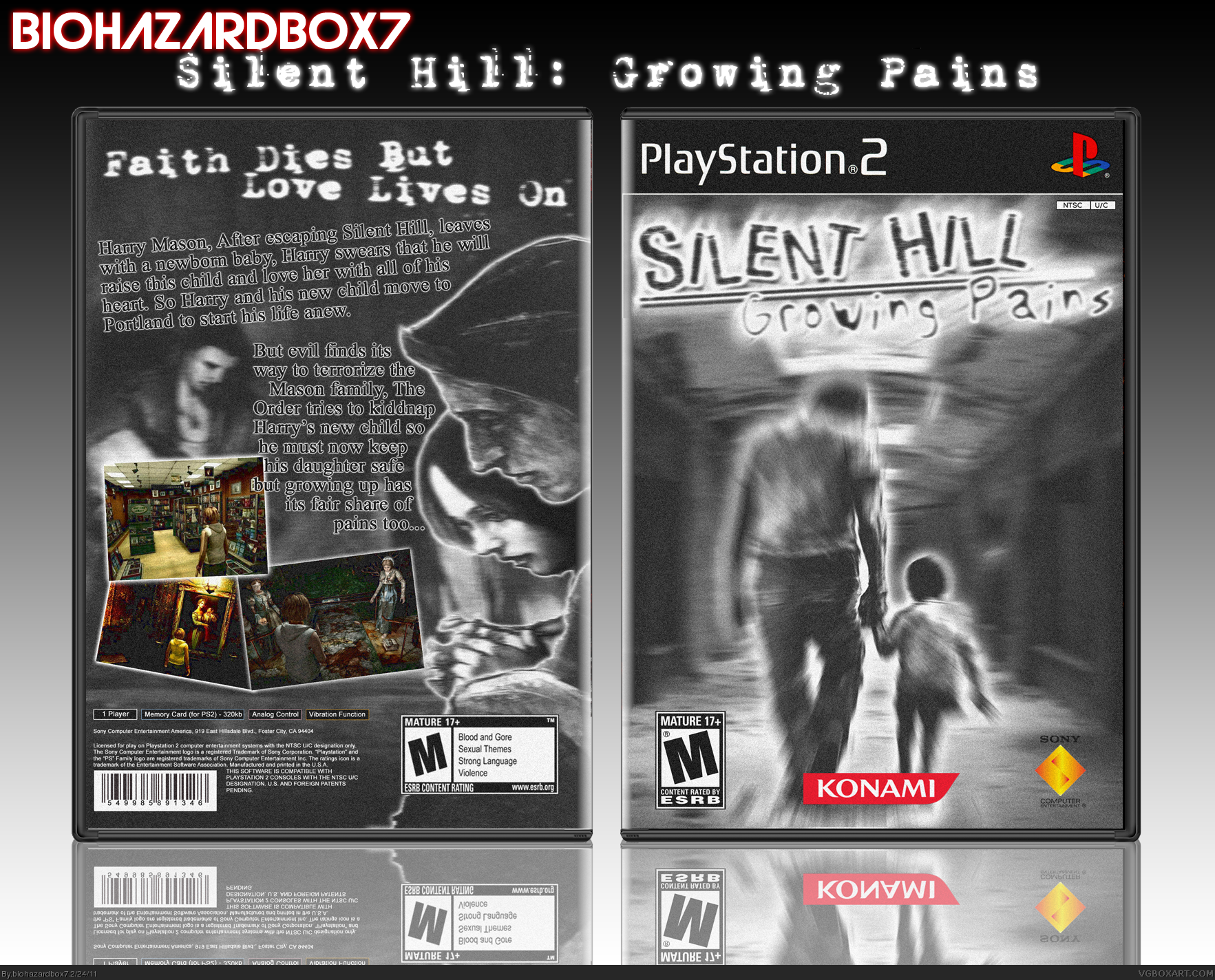 Silent Hill: Growing Pains box cover
