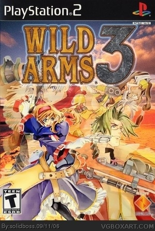 PlayStation 2 » Wild Arms 3 Box Cover