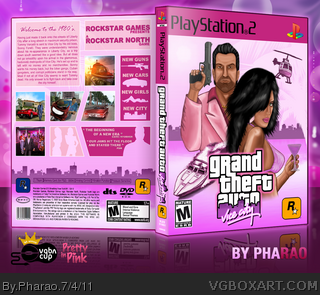 Grand Theft Auto: Vice City box art cover