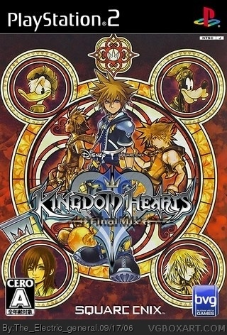 Kingdom Hearts 2: Final Mix box art cover