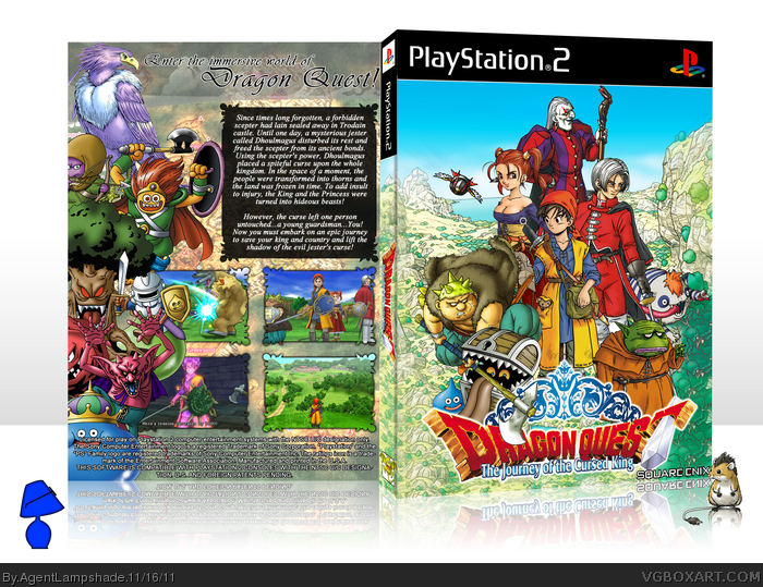 Dragon Quest VIII: Journey of the Cursed King box art cover