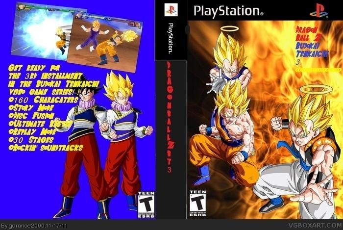 Dragon Ball Z Budokai Tenkaichi 3 by Gorance2000 PlayStation
