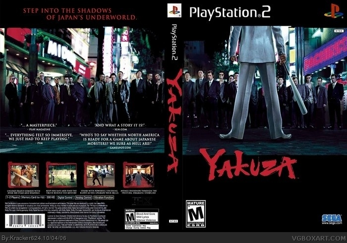 Yakuza Box Art Cover