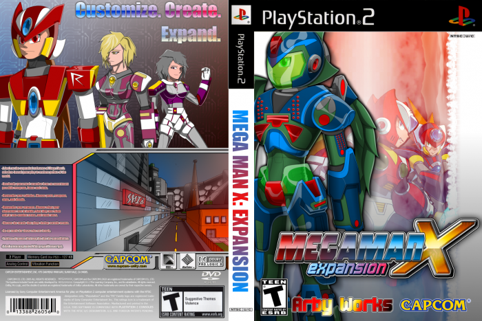 Mega Man X: EXPANSION box art cover