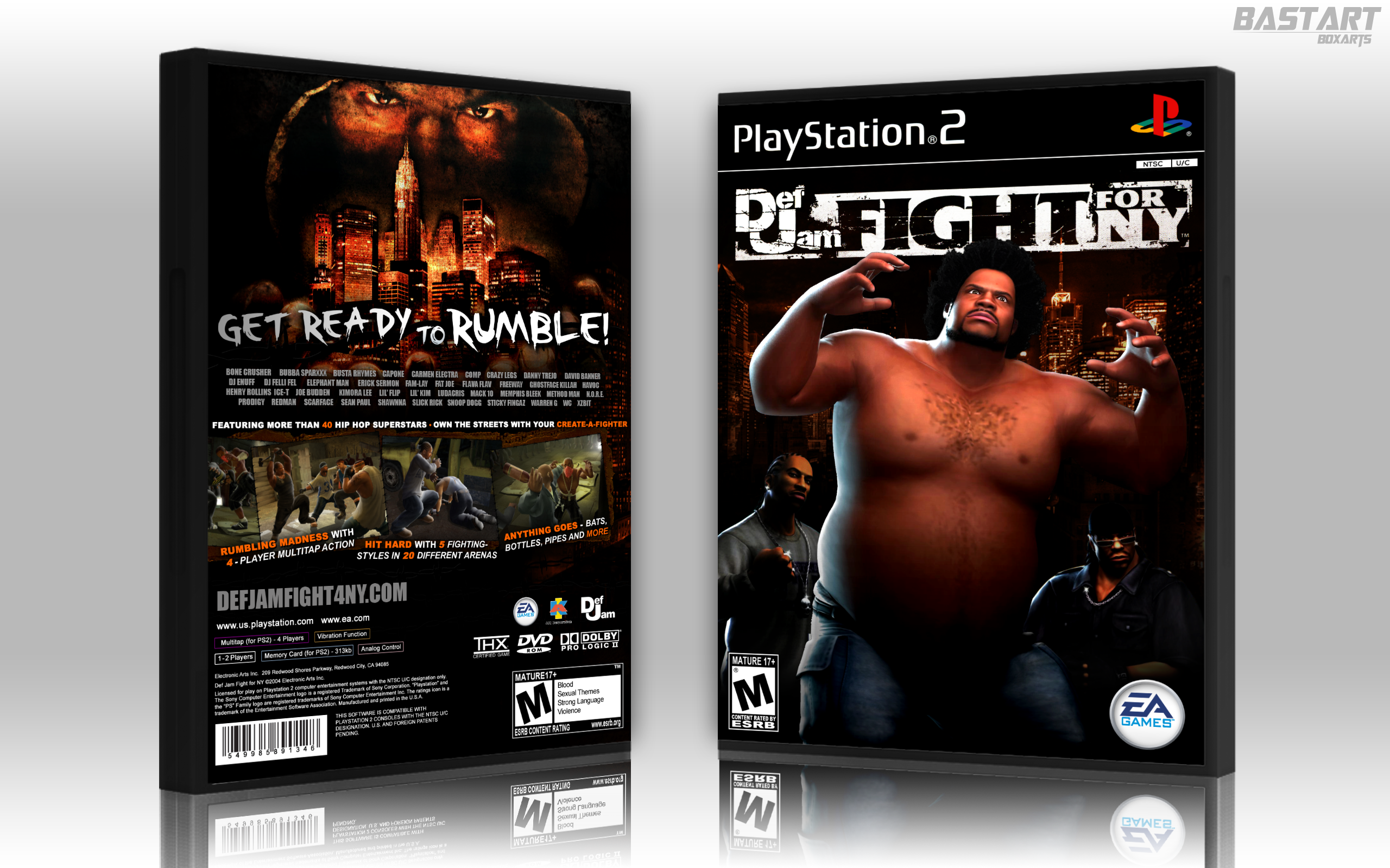 Def Jam: Fight for NY box cover