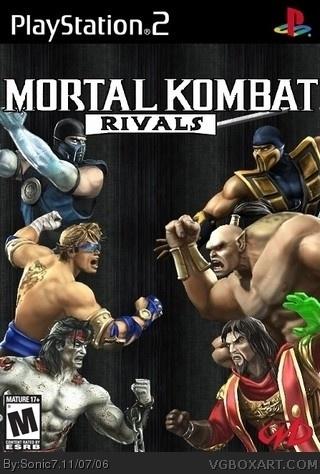 Mortal Kombat Rivals Playstation 2 Box Art Cover By Sonic7