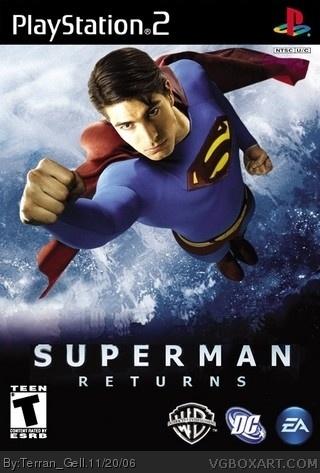 Superman Returns box art cover