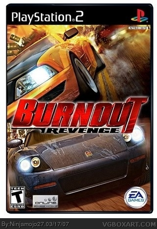 Burnout Revenge box cover