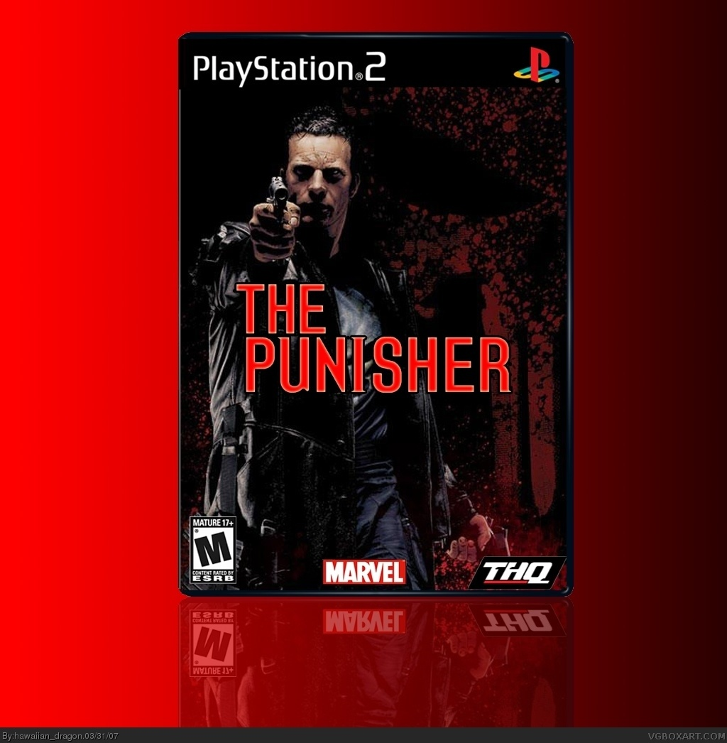 The Punisher box cover