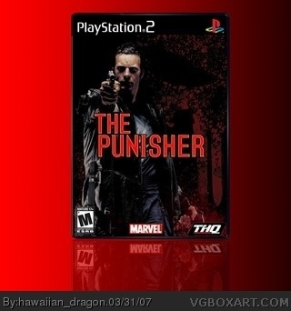 The Punisher box art cover