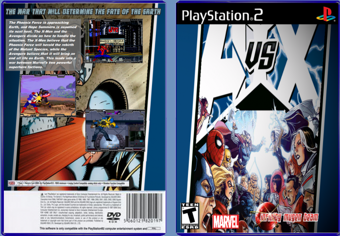 Avengers vs X-Men(Unfinished) box art cover