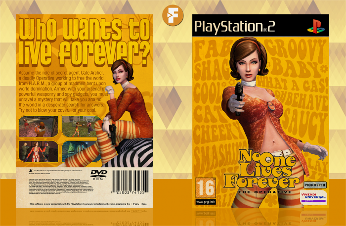 The Operative: No One Lives Forever box art cover