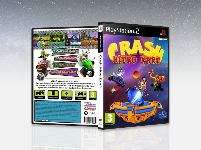 Crash Nitro Kart box art cover