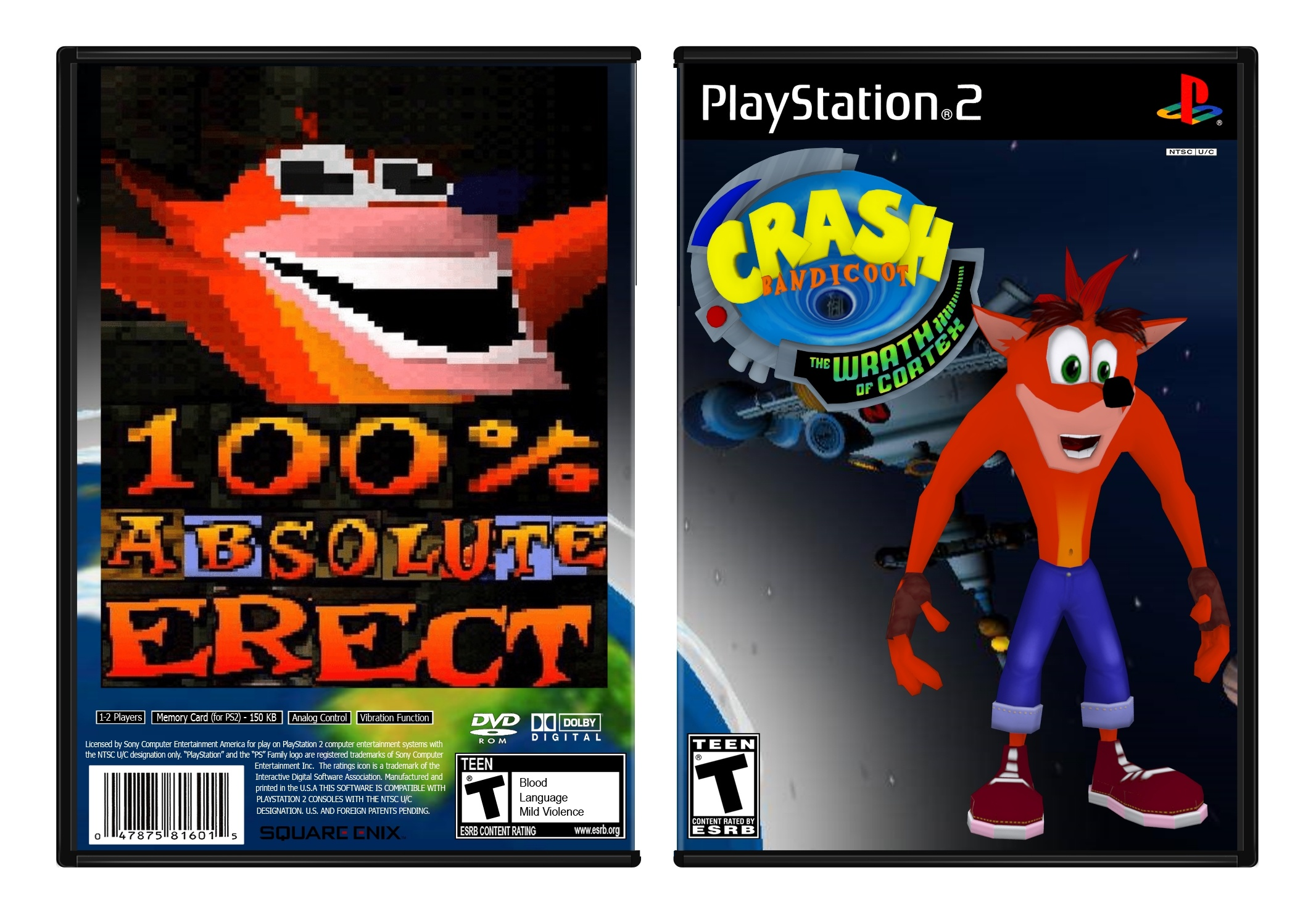 Crash Bandicoot: The Wrath of Cortex box cover