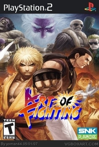 Art Of Fighting Playstation 2 Box Art Cover By Deleted