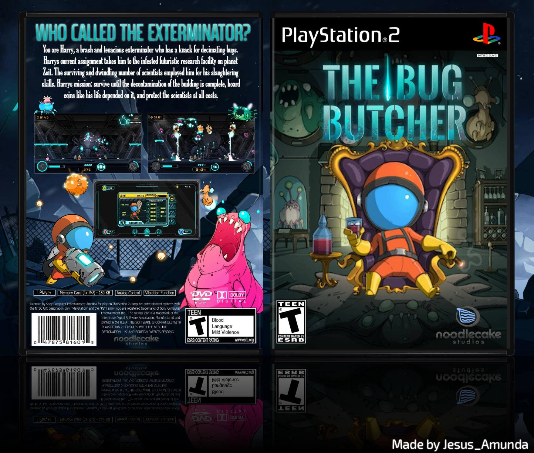 The Bug Butcher box cover
