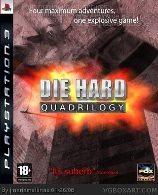 Die Hard Quadrilogy box cover