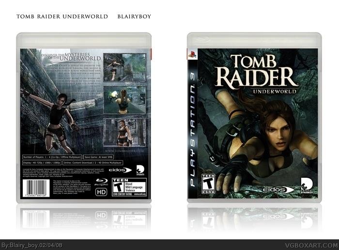PlayStation 3 » Tomb Raider Underworld Box Cover