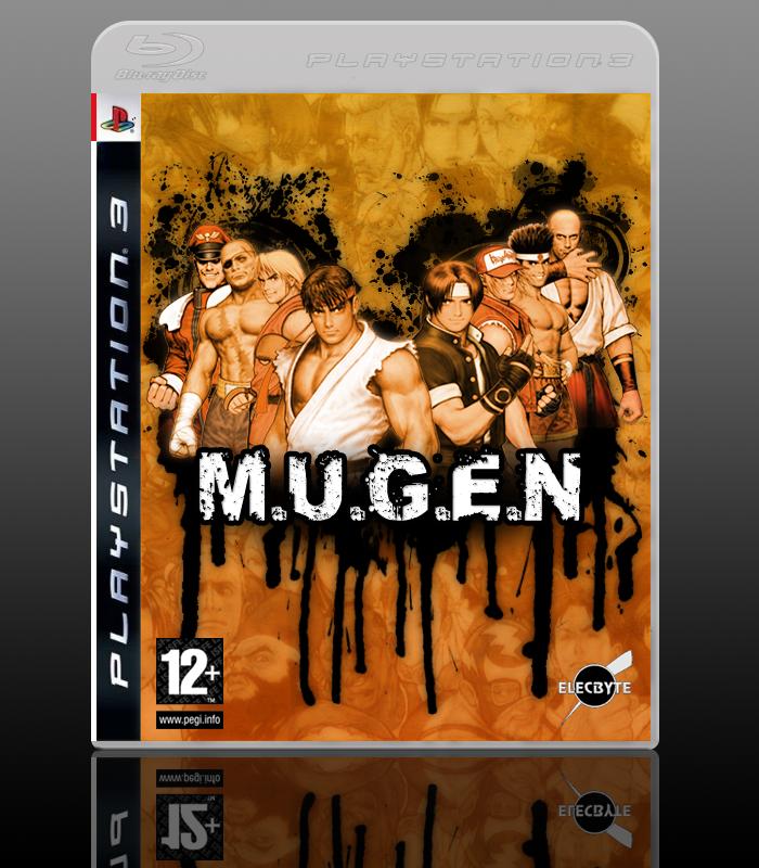 M U G E N Playstation 3 Box Art Cover By Rokudaime
