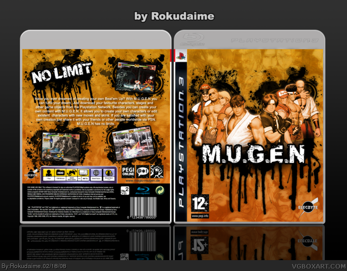 M.U.G.E.N box art cover