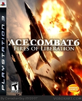 Ace Combat 6 PlayStation 3 Box Art Cover by CanadianGuy